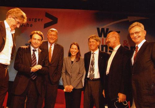 Podiumsdiskussion Augsburger Mediengespräche