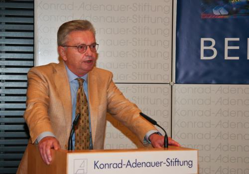 8. Berliner MEDIEN Diskurs der Konrad-Adenauer-Stiftung e.V., Juni  2011